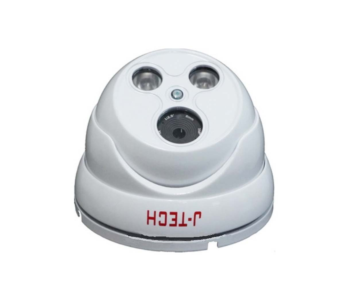 J-TECH IPC HD3300 DOME 2~5MP H.265+ POE MIC ONVIF
