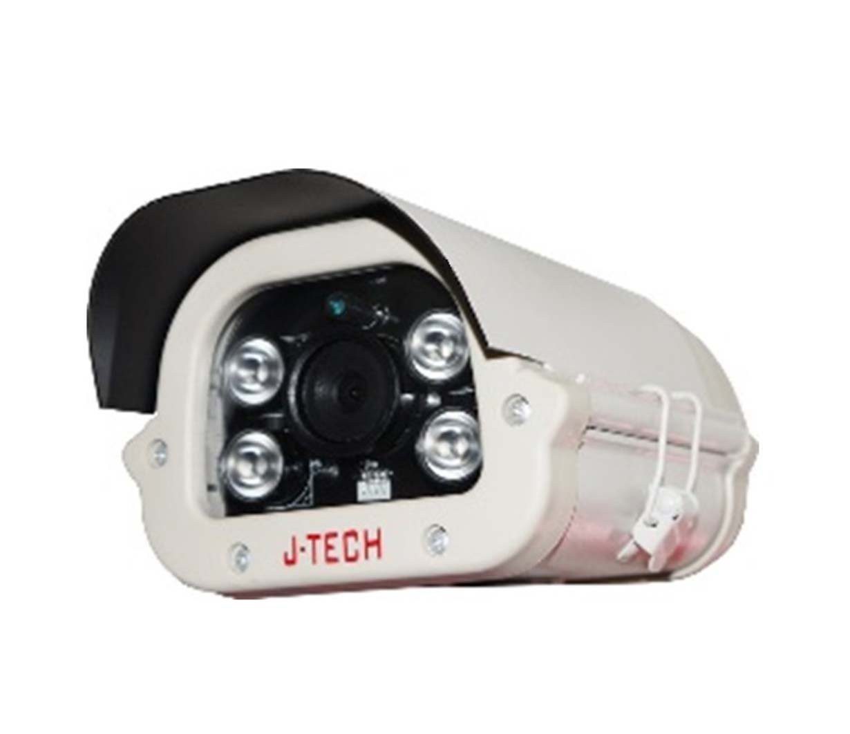 J-TECH IPC SHD5119 THÂN 2~5MP H.265+ POE MIC ONVIF