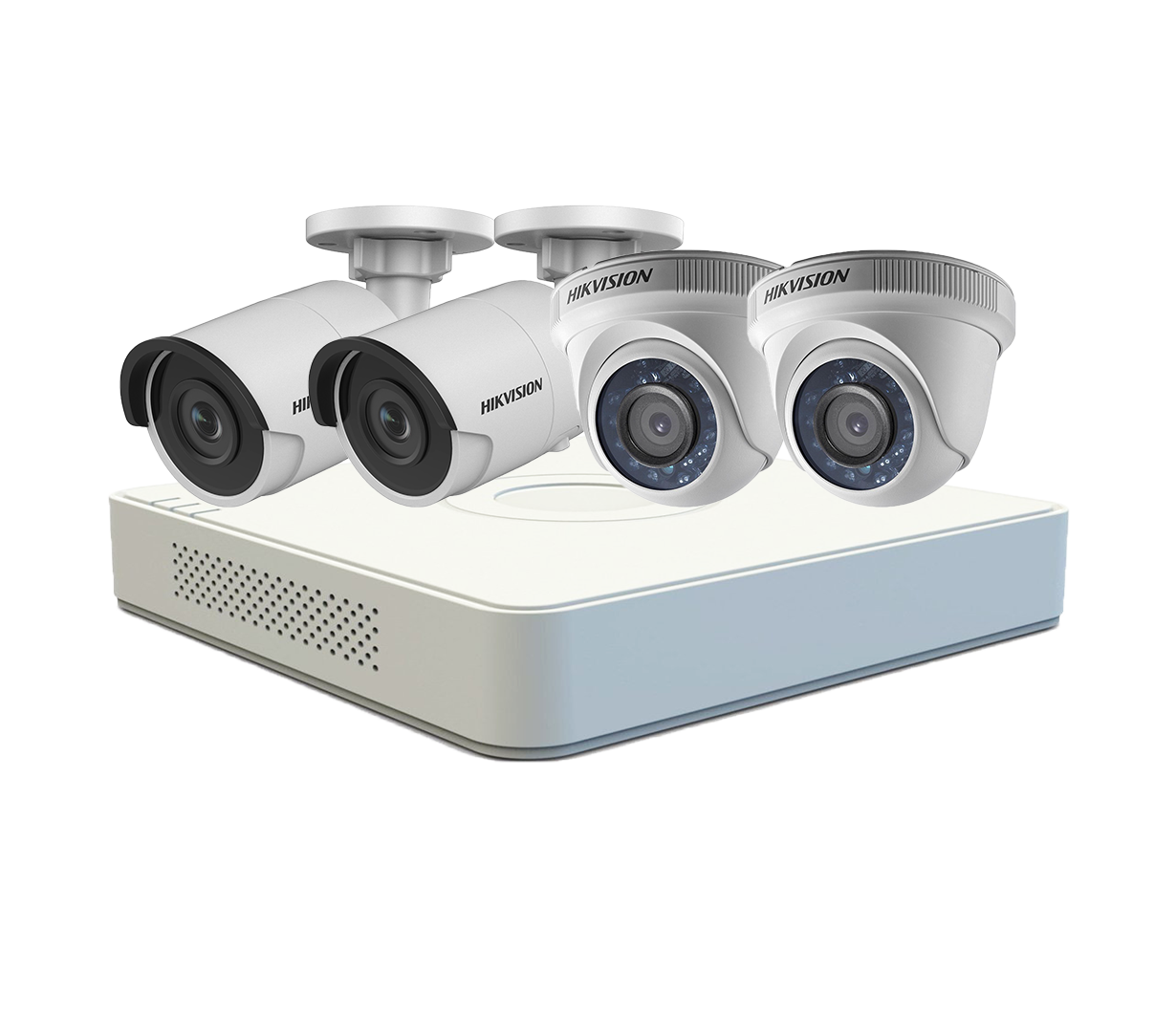 HIKVISION – BỘ 04 CAMERA TVI 2.0MP STARLIGHT FULL HD