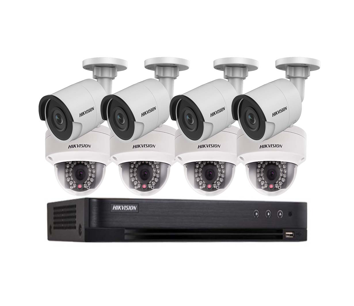 HIKVISION – BỘ 08 CAMERA TVI 2.0MP STARLIGHT FULL HD
