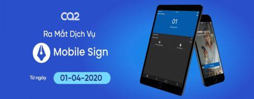 Tích hợp chữ Ký số vào di động Mobile Sign ra mắt.