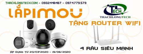 CTKM – Tặng router wifi 4 râu siêu mạnh khi lắp đặt camera wifi IMOU